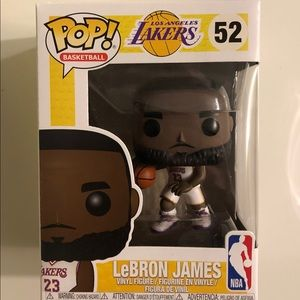 Lebron James-White Jersey-Funko Pop
